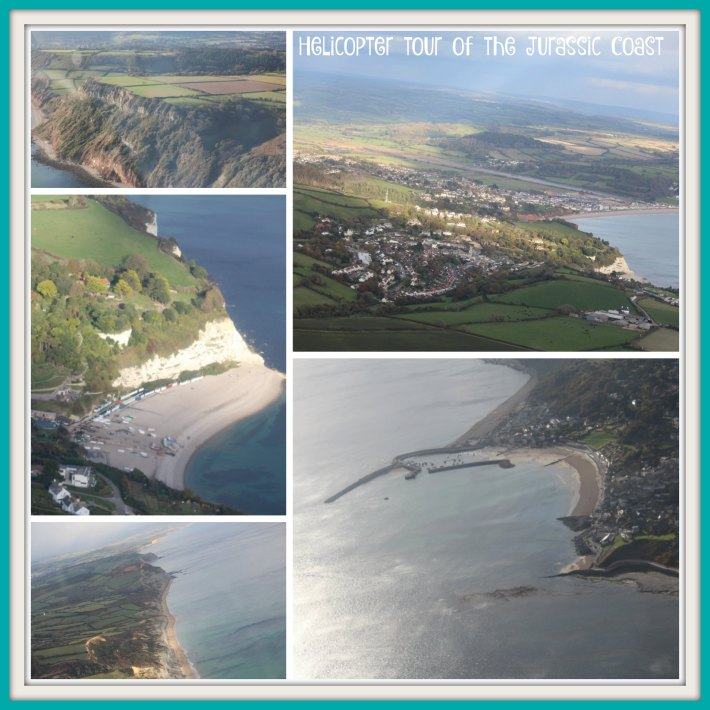 helicopter-tour of the Jurassic Coast