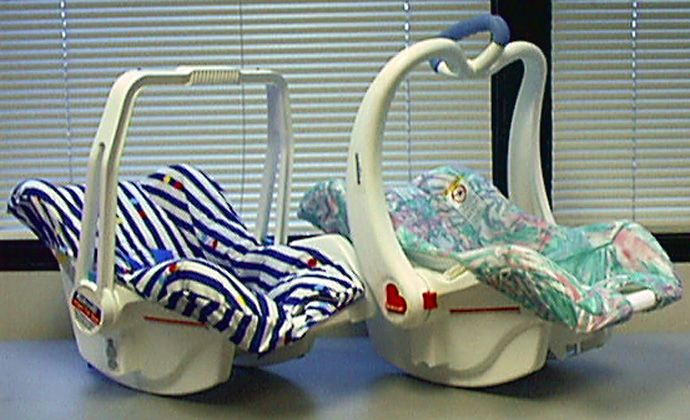 90's car seat
