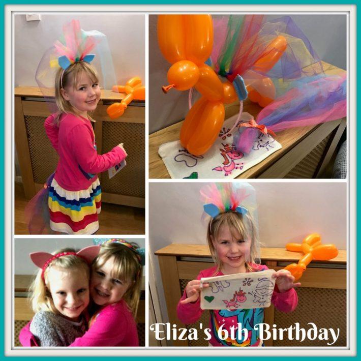 Eliza's 6th Birthday