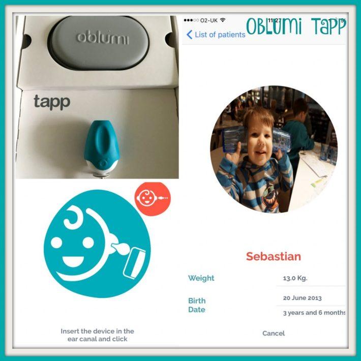 Oblumi Tapp Thermometer