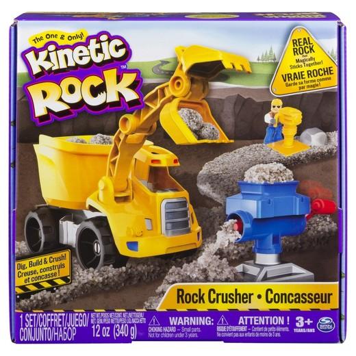 Kinetic Rock Crusher
