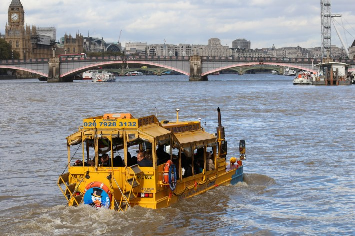 A Sightseeing Tour of London with London Duck Tours