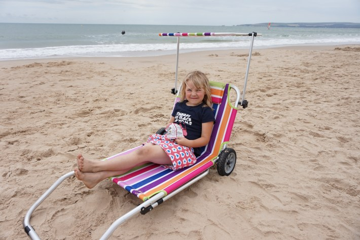 Roll On Summer Sun Lounger Trolley
