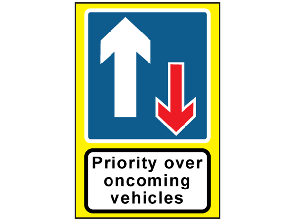 Priority Over Oncoming Vehicles