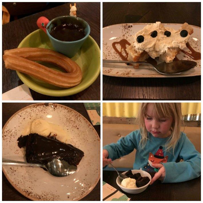 las iguanas desserts