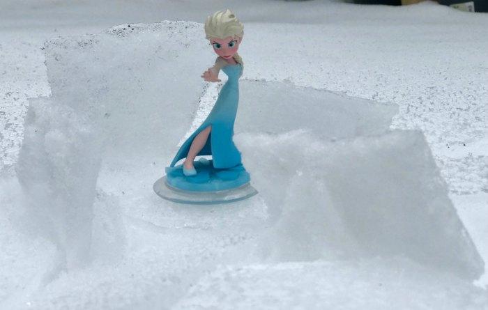 Ice palace Elsa