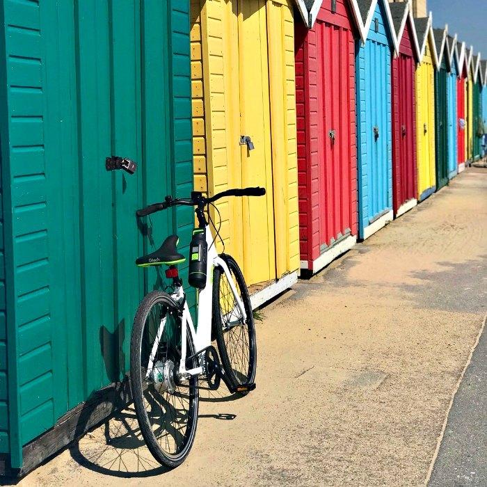 Gtech Ebike beach hut