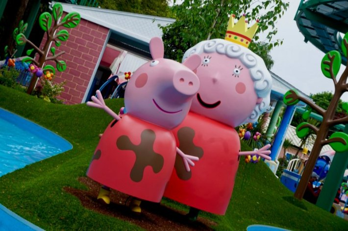 Peppa and the Queen
