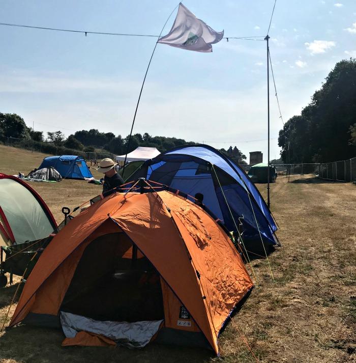 Camp Bestival Tent