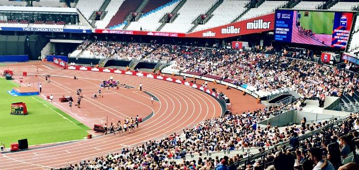 Muller Anniversary Games Running