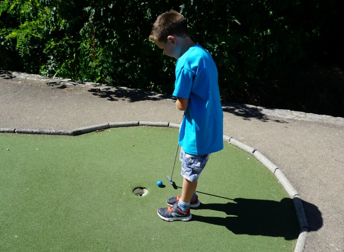 Isaac Mini Golf