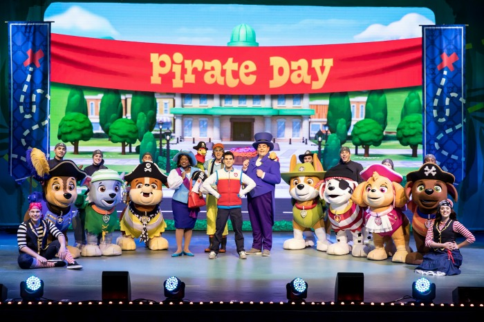 Paw Patrol Live Pirate