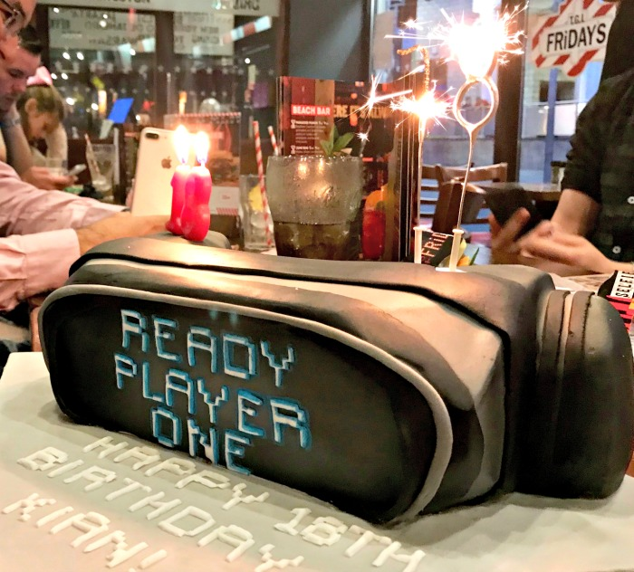 Ready Player One Cake
