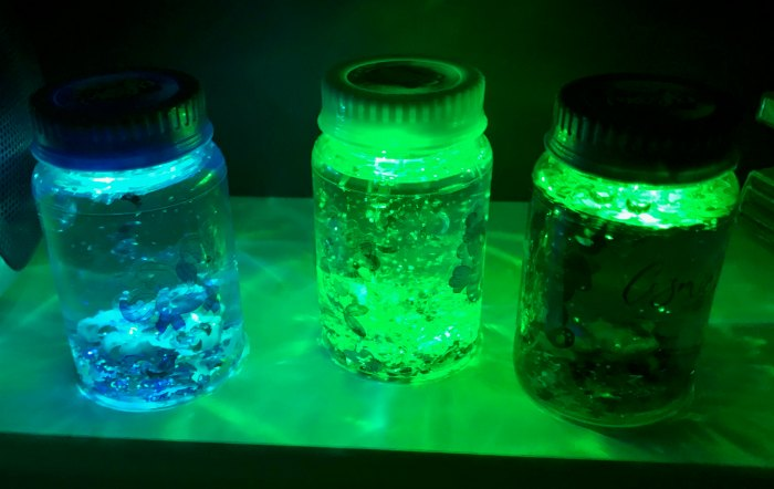 Light up Jars