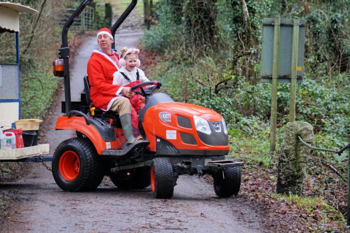 Eliza Tractor Christmas Day