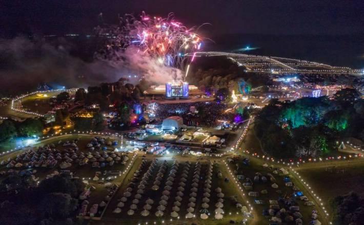 Camp Bestival Fireworks