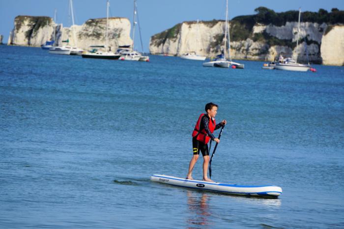 Isaac-Paddle-Board