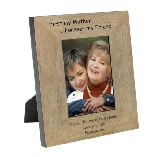 my-mother-forever-my-friend-wood-frame-6-x-4