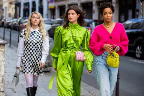 Street Style At Paris Fashion Week - Womenswear Spring Summer 2021 : Day Seven