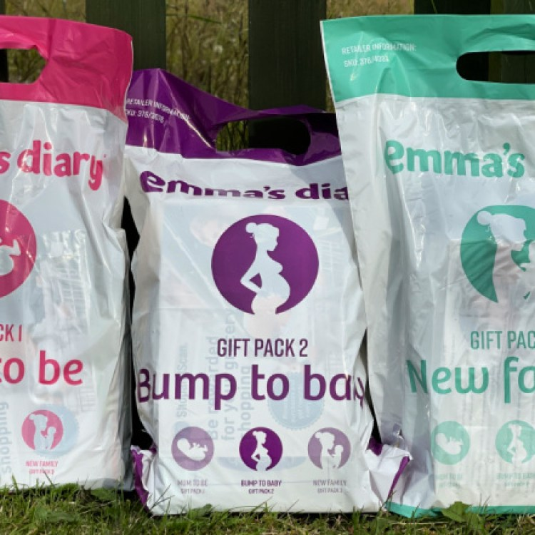 How to get free pack of nappies with Emma's Diary Gift Packs?