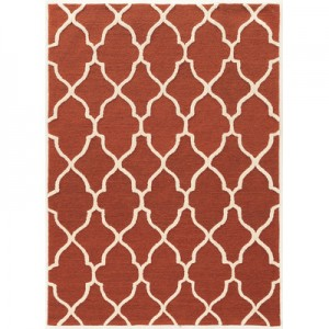 Wyndmoor Hand Tufted Rust Rug