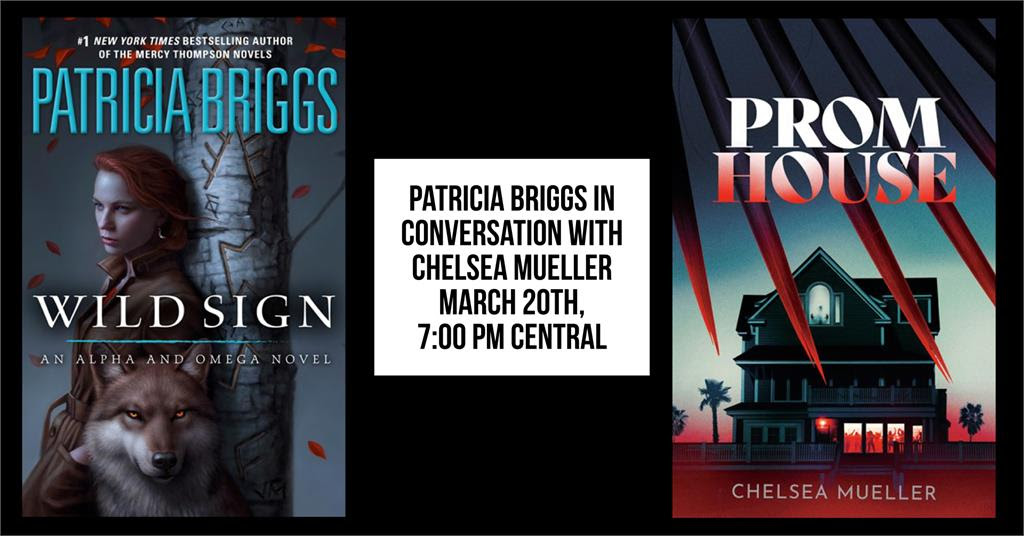 Patricia Briggs in conversation with Chelsea Mueller at Murder by the Book - March 20, 2021