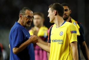 Sarri Responds To Claims By Agent That Chelsea Star Will Look To Leave In January