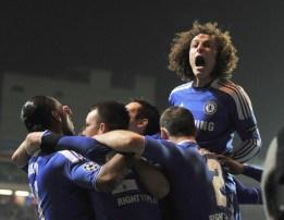 Celebration vs Napoli (3-1)