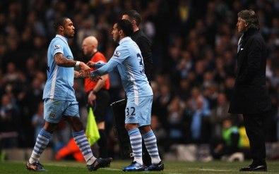 Tevez vs Manchester City