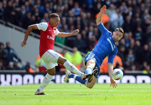 Cahill vs Arsenal
