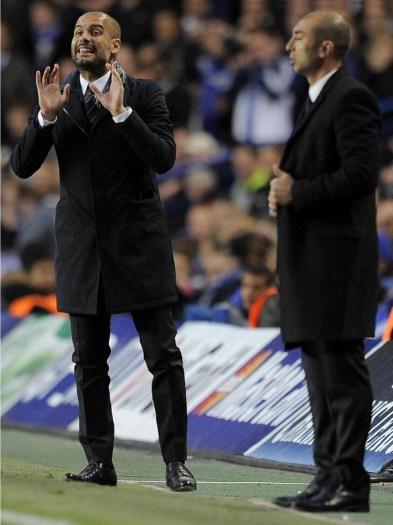Pep vs Barcelona