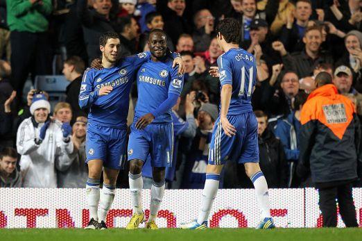 Chelsea 8 Aston Villa 0 (1)