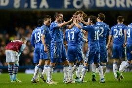 Chelsea 8 Aston Villa 0 (20)