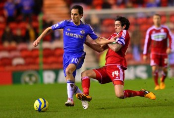 Middlesbrough 0 Chelsea 2 (3)