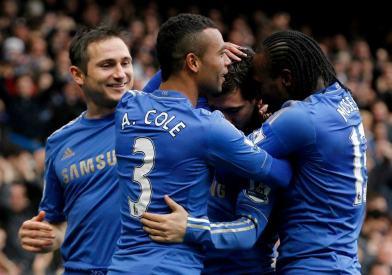 Chelsea 2 West Ham 0 (31)
