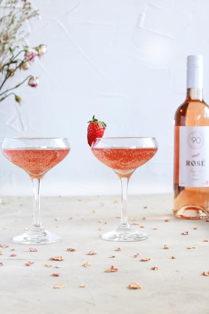 Special Rosé Aperol Spritz