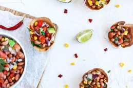 Close picture of Individual Vegan Bean Dip Cups