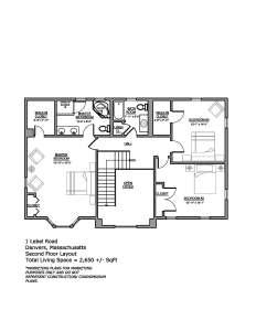1 Lebel St_DanversMA_08_01_16 Second Floor Plan