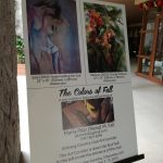 """""""The Colors of Fall"""" exhibit featuring the paintings of Maria Pilar """"Nena"""" Fall"""