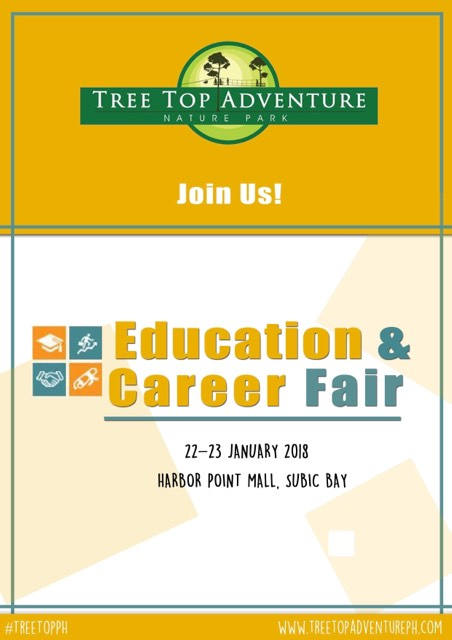 Tree Top Adventure at Education & Career Fair 2018