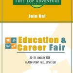Tree Top Adventure at Education & Career Fair 2018 at Harbour Point Mall in Subic