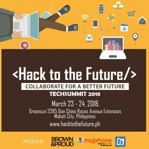 Hack to the Future: Tech Summit moved to March 2018!