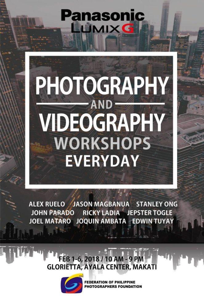 Panasonic Lumix G Photography and Videography Workshops. Courtesy of Lumix PH (Facebook)
