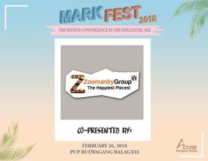 Zoomanity Group, one of the major sponsors.