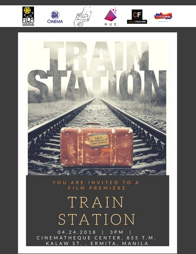 Train Station Premiere, Tues, April 24, 2018 at Cinematheque Center