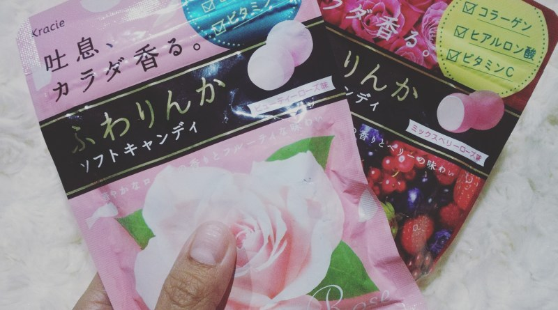 Kracie Fuwarinka Beauty Rose Candy & Mix Berry