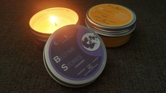 Conscents Scented Soy Candles