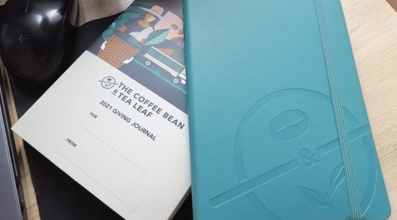 A Perfect Journal for Minimalists – The Coffee Bean and Tea Leaf 2021 Giving Journal