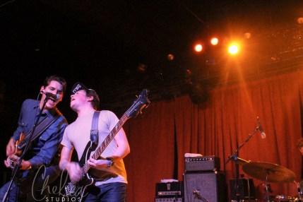 Austin Jenkins and Steven Terebecki | White Denim | Nashville, TN | Mercy Lounge | March 8, 2014