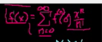 Taylor Series Notation